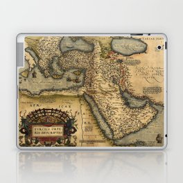 Map Of The Middle East 1600 Laptop & iPad Skin