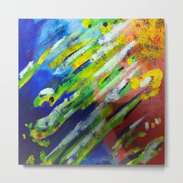 Underwater Painting Metal Print