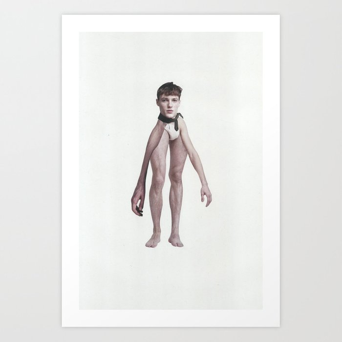 The naked truth no.2 Art Print by fabiotir