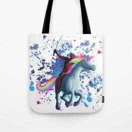 Wade and Unicorn Tote Bag