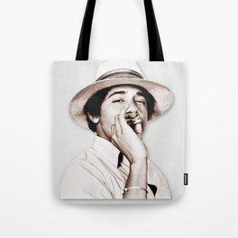 Barack Obama Smoking weed Tote Bag