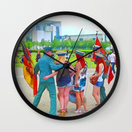 BERLIN-Fun Wall Clock