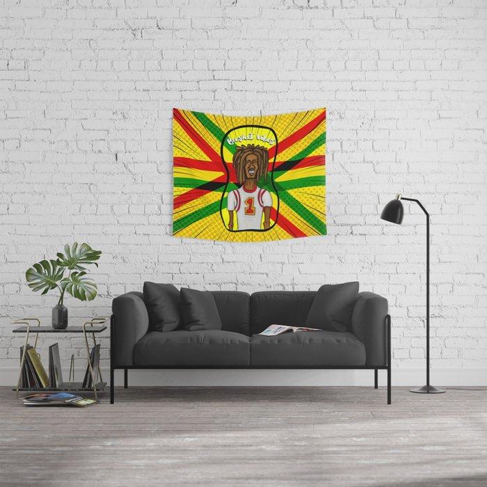 Rasta basket vibes Wall Tapestry