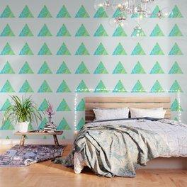 Ziggy: Watercolor Triangle Wallpaper