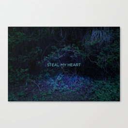 Steal My Heart Canvas Print