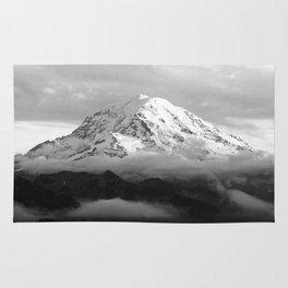 Marvelous Mount Rainier Rug