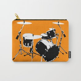 Drumkit Silhouette (frontview) Carry-All Pouch