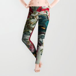 FLORAL AND BIRDS XXII Leggings