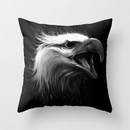Eagle Eye Throw Pillow