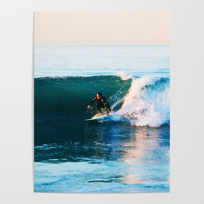 Warm Surf Poster