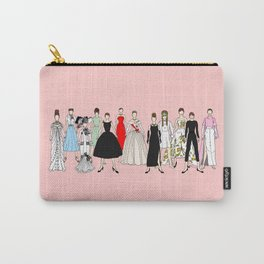Audrey Hepburn Think Pink Outfits Fashion Carry-All Pouch
