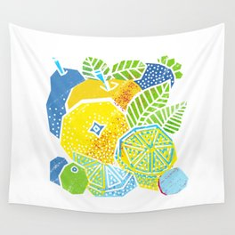 New Fruits Wall Tapestry