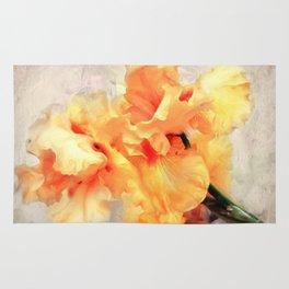 Yellow Iris I Rug