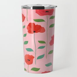 Wild Poppies Travel Mug