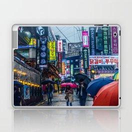 Raining in Gangnam Laptop & iPad Skin