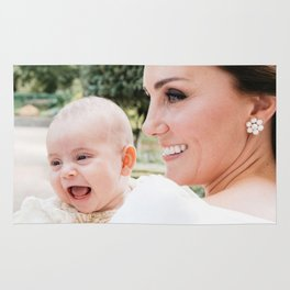 Duchess Kate and Prince Louis Rug