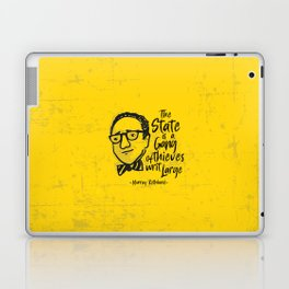 Murray Rothbard Illustration Laptop & iPad Skin