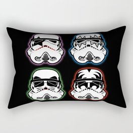 Kiss Troopers Rectangular Pillow
