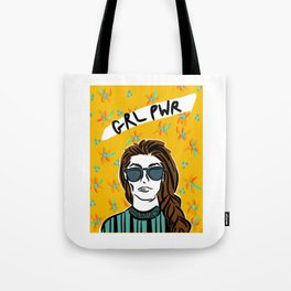 GRL PWR | Yellow Tote Bag