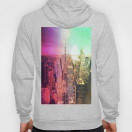 New York City Rainbow Bokeh Hoody