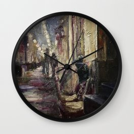 Presentiment Print Original Oil Painting On Canvas Home Living Wall Clock