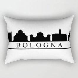 skyline of Bologna Rectangular Pillow