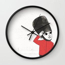 Little Soldier Wall Clock