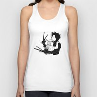 edward scissorhands Tank Tops featuring Edward Scissorhands by Gregory Casares