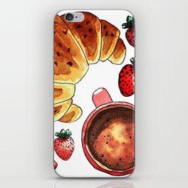 Breakfast, maybe! iPhone Skin