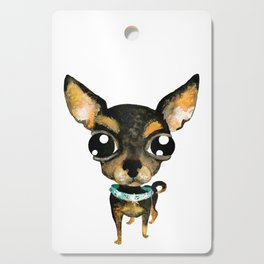 Cute chihuahua dog Cutting Board