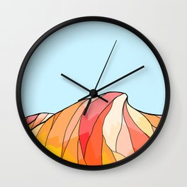 The hot dune Wall Clock