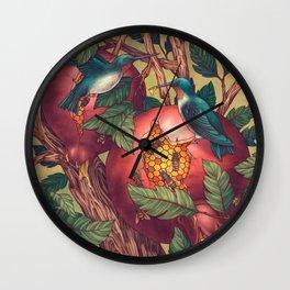 Ragged Wood Wall Clock