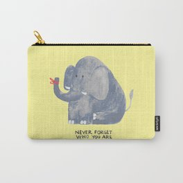 Elephant never forgets Carry-All Pouch