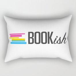 Pansexual, Bookish, and Proud Rectangular Pillow
