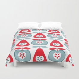 Up The Apples & Pears Duvet Cover