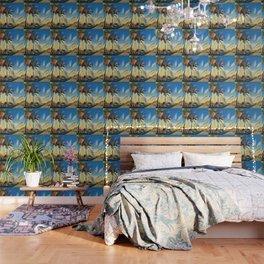 Palm Road Wallpaper