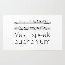 Do you speak euphonium? Rug
