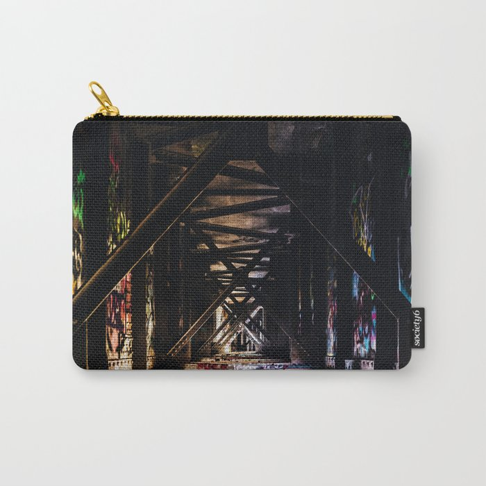 An Artist's Wonderful Bridge Carry-All Pouch