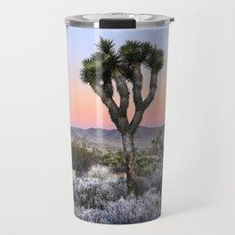 Joshua Tree Sunrise Travel Mug