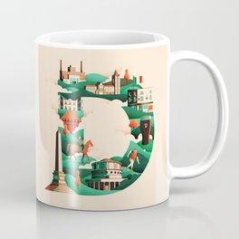 Wanderlust Alphabet – D is for Dublin Coffee Mug