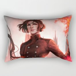 Lila Bard Rectangular Pillow