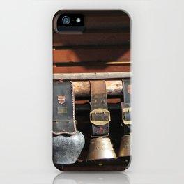 Swiss Cow Bells iPhone Case