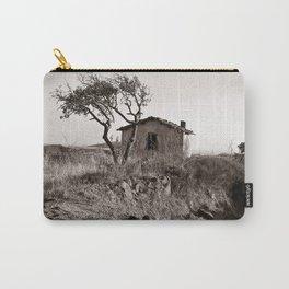 "Abandoned Farmer Village - Sardinia - ""VACANCY "" zine  Carry-All Pouch"