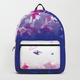 Peonies In Water Backpack