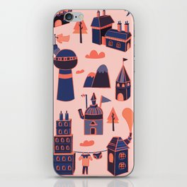 A Little Town iPhone Skin