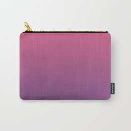 Bright Pink Ultra Violet Gradient   Pantone Color of the year 2018 Carry-All Pouch