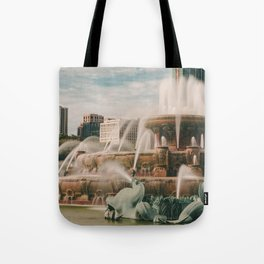 Fountain View 3 Tote Bag