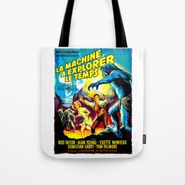 The Time Machine (French) Tote Bag