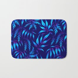 Brooklyn Forest - Blue Bath Mat
