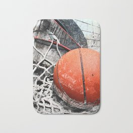 Modern Basketball Art 8 Bath Mat